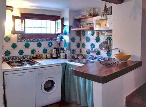 Erdgeschoss: Küche