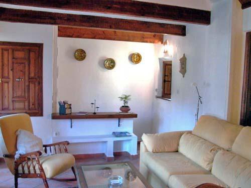 Erster Stock: Wohnzimmer - Blick zurück